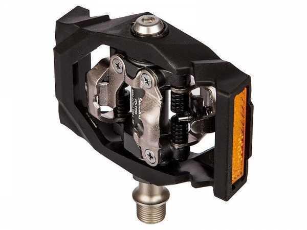Педали, T400, SPD CLICK'R, с шипами SH56, цвет черный EPDT400LR Код товара: 00-00021040  1850 RUB