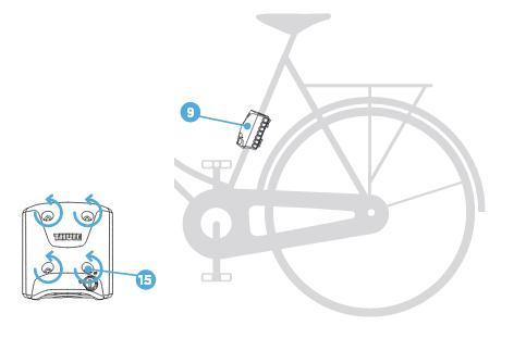 Установка велокресла Thule RideAlong