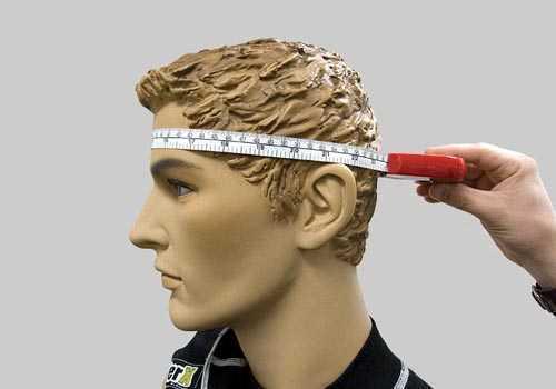 Измерение головы для выбора шлема