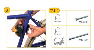 Установка велокресла с креплением Relax