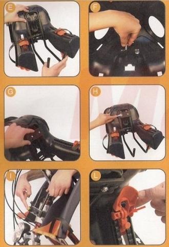 Установка велокресла с креплением Sportfix