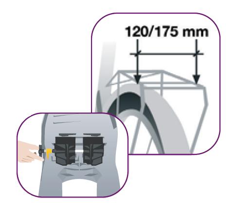 схема установки детскогоо сиденья на багажник