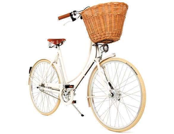 Женский велосипед с корзиной
