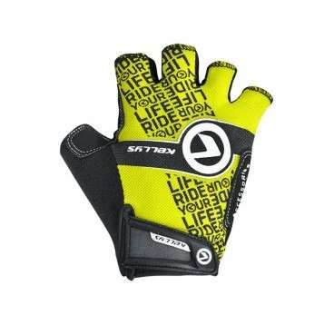 Перчатки KELLYS COMFORT, без пальцев, салатовый, S, Gloves COMFORT NEW lime S