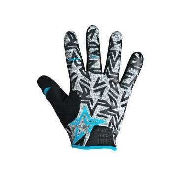 Перчатки KELLYS IMPULS long, голубые, M, Gloves IMPULS long  sky blue M