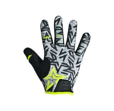 Перчатки KELLYS IMPULS long, салатовые, XL, Gloves IMPULS long  lime green XL