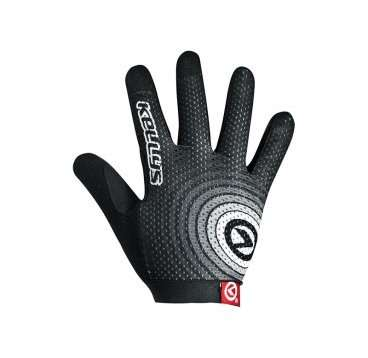 Перчатки KELLYS INSTINCT long, чёрно-белые, M, Gloves INSTINCT long , black/white M