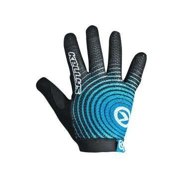 Перчатки KELLYS INSTINCT long , чёрно-синие, L, Gloves INSTINCT long , black/blue L
