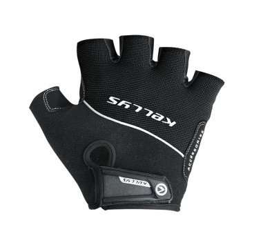 Перчатки KELLYS RACE, без пальцев, чёрные, M, Gloves RACE, Black, M