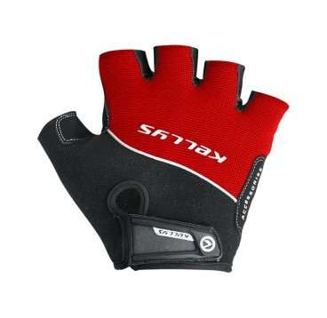 Перчатки KELLYS RACE, без пальцев, красные, S, Gloves RACE, Red, S