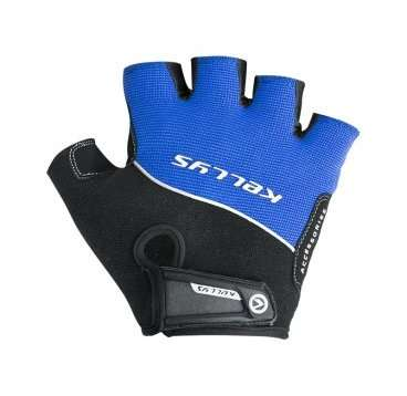 Перчатки KELLYS RACE, без пальцев, синие, S, Gloves RACE, Blue, S