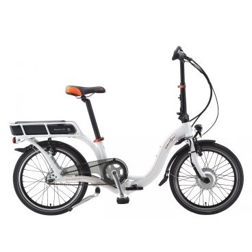 Складной электро велосипед DAHON Ciao Electric Pure White 2015