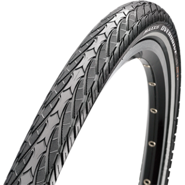 Велопокрышка Maxxis Overdrive MaxxProtect, 700x40C, 60 TPI, wire, 70a, черная, TB96135500