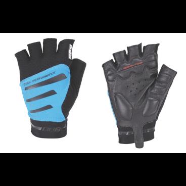 Велоперчатки BBB Equipe, черный/синий  - купить со скидкой