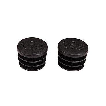 Заглушки велосипедные BBB caps Plug & Play, черный, BBE-50  - купить со скидкой