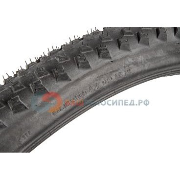 Велопокрышка Continental X-King 2.2, 26x2.4(60-559), 180TPI, Performance, черная, 100400