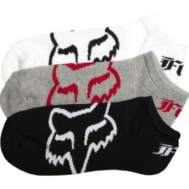 Носки Fox Core No Show Socks, 3 пары 2017  - купить со скидкой