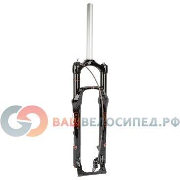 Вилка амортизационная велосипедная RST F1RST 29 TRL, 29 , для XC/ATB, шток 1-1/8 , ход 100мм, чёрная  - купить со скидкой
