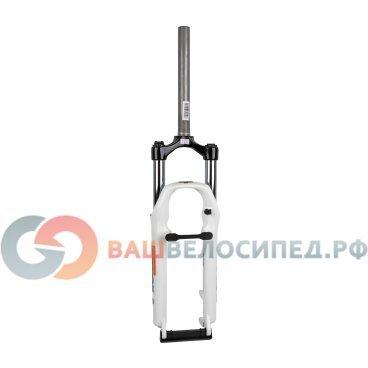Вилка амортизационная для велосипеда RST Gila Т 26 х28,6 пружинно-эластомерная 100мм V+D  - купить со скидкой