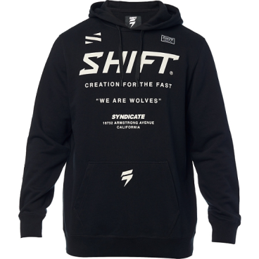Толстовка Shift Muse Pullover Fleece, черный 2019