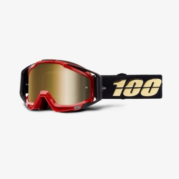 Очки велосипедные 100% Racecraft Hot Rod / Mirror True Gold Lens, 50110-274-02