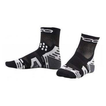 Велоноски для триатлона Orca Comp Ultralite Racing Sock,анатомические, черный  - купить со скидкой