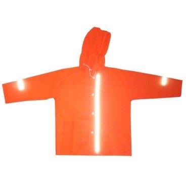 Дождевик Vinca Sport со светоотражающими полосами, DK2 orange  - купить со скидкой