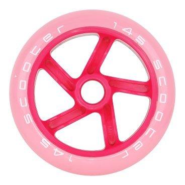 Колесо для самоката Tempish 2018 PU, 145x30 mm, 87A, розовый  - купить со скидкой
