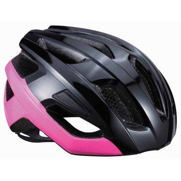 Летний шлем BBB Kite, блестящий черный/неон/розовый  - купить со скидкой