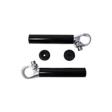 Рога на руль, алюминий, черный, HL-GB18 black  - купить со скидкой