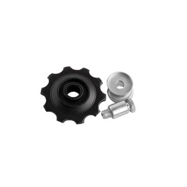 Ролик нижний POWER для заднего переключателя, 10T, черный, model B  - купить со скидкой