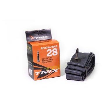 Камера велосипедная TRIX, 28x1.75 мм, спортниппель Presta, бутиловая, Presta  - купить со скидкой