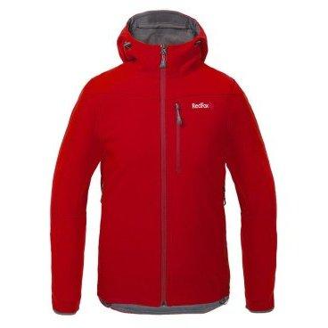 Куртка RedFox Yoho Softshell, темный красный  - купить со скидкой