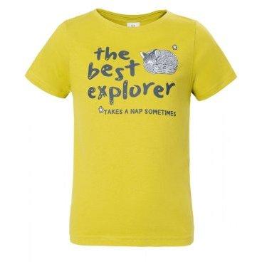 Футболка RedFox Explorer Boy, детская, алоэ  - купить со скидкой