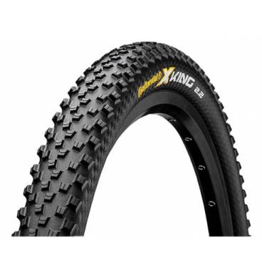 Покрышка велосипедная Continental X-King 2.2, 26 x2.2 , складная, 4/240TPI, ProTection, BlackChili, черная, 100524  - купить со скидкой