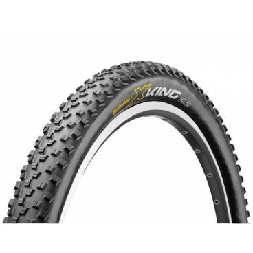 Покрышка велосипедная Continental X-King 2.4, 26 x2.4 , складная, 3/180TPI, RaceSport, BlackChili, черная, 100527  - купить со скидкой