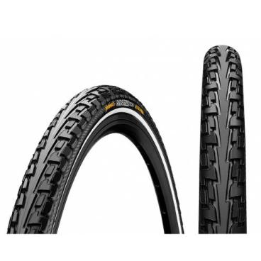 Покрышка велосипедная Continental RIDE Tour, 28 x1.75, 47-622, Reflex, 180TPI, Extra Puncture Belt, черная, 101160  - купить со скидкой