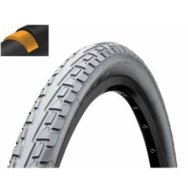 Покрышка велосипедная Continental RIDE Tour, 28 x1.75 , 47-622, 180TPI, Extra Puncture Belt, серая, 101185  - купить со скидкой