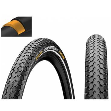 Покрышка велосипедная Continental RIDE Cruiser 26 x2,0 , 50-559, Reflex, 3/180TPI, Extra Puncture Belt, черная, 101523  - купить со скидкой