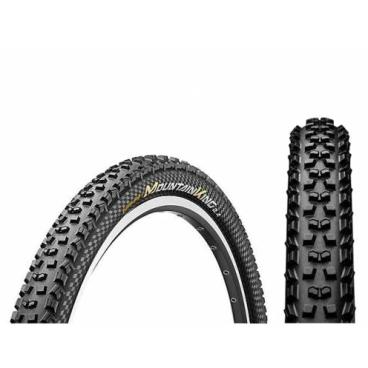 Покрышка велосипедная Continental Mountain King II 2.4, 27.5 x2.4 , чёрный, Skinwall, складная, 150111  - купить со скидкой