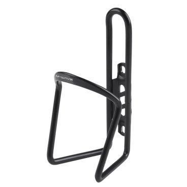 Флягодержатель велосипедный M-Wave, алюминий, черный, 5-340883  - купить со скидкой