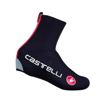 Велобахилы Castelli DILUVIO C, черные  - купить со скидкой