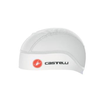 Подшлемник велосипедный летний Castelli SUMMER, белый, 4516043  - купить со скидкой