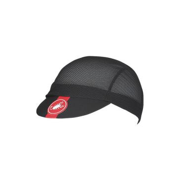 Велошапочка Castelli A/C CYCLING cap, черный, 4518024  - купить со скидкой