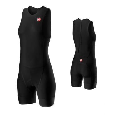Комбинезон для триатлона женская Castelli CORE W SPR-OLY SUIT, черный  - купить со скидкой