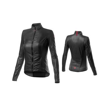 Куртка-ветровка женская Castelli ARIA SHELL W, темно-серая  - купить со скидкой