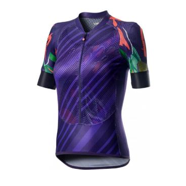 Велофутболка женская Сastelli CLIMBER'S W, фиолетовая, 2020  - купить со скидкой