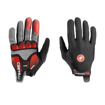 Велоперчатки Castelli ARENBERG GEL LF, черно-красные, 2020  - купить со скидкой