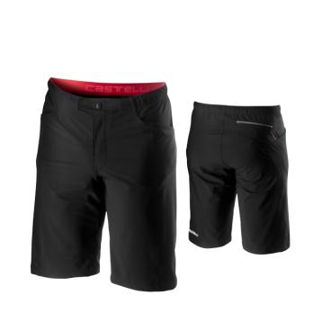 Велошорты Castelli Unlimited Baggy, черные, 2020  - купить со скидкой
