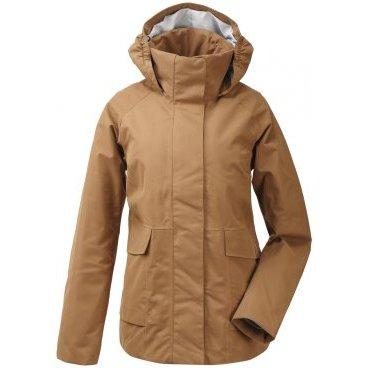 Куртка женская Didriksons UNN WNS JKT, 400 миндаль, 503005  - купить со скидкой